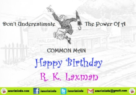 rk-laxman-common-man